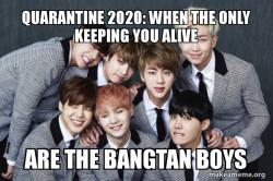 K-Pop Band BTS (Bangtan Boys)