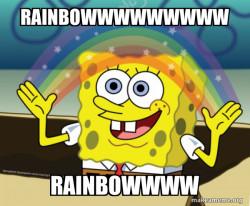 Rainbow kid