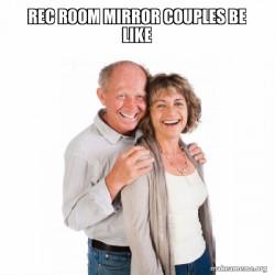 Rec room meme