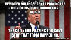 London beige attack