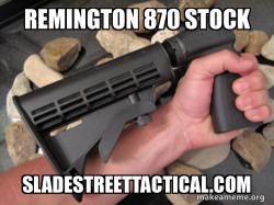 Remington 870 Stock