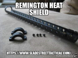 Remington Heat Shield