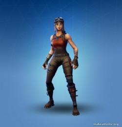 Renegade Raider Fortnite Skin