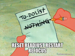 TO-DO List in Research