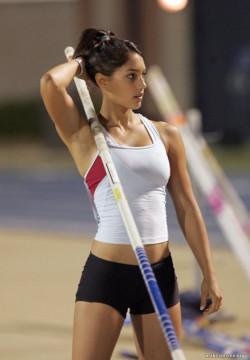 Ridiculously Photogenic Pole Vaulter