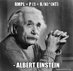 Serious Albert Einstein