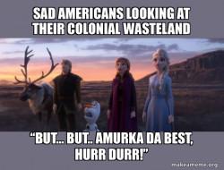 sad americans wasteland colonialism genocide
