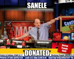Donated R1MILLION