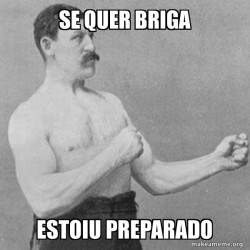 Overly Manly Man