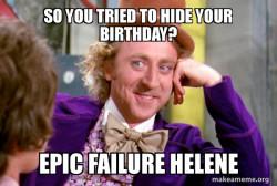 Helene b-day