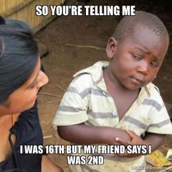 Skeptical Third World Kid