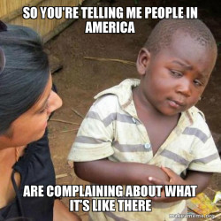 Skeptical Third World Kide
