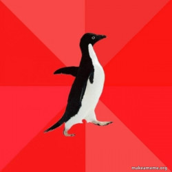 Socially Awesome Penguin
