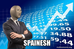 when you don't know any Spanish but still manage to get an A