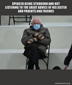 Bernie Sanders at the Inauguration