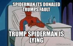 trumps fault?