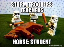 kill 'em with education