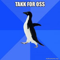 Socially Awkward Penguin