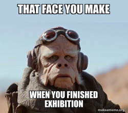Exhibition wars a Star Wars story