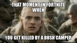 death by bush