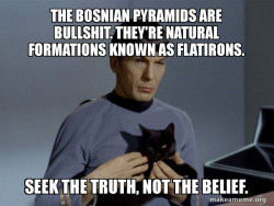 Seek the truth, not the belief.