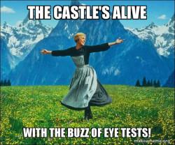 Sound of Eye Tests!