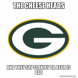 Cheese Heads Suck