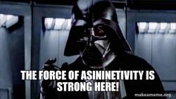 Darth Vader - Asininetivity