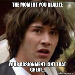 Bad Assignment