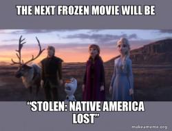 SUPPORT #STOLEN ... NATIVE AMERICA LOST MOVIE, 2020, coronavirus, memes, movies, television, entertainment