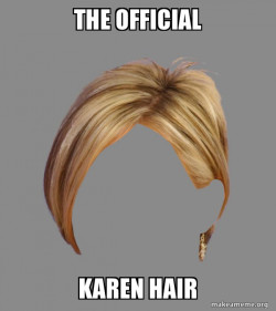 The Karen Hair