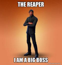 Fortnite The Reaper