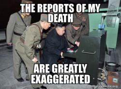 Kim Jong Un Never Died