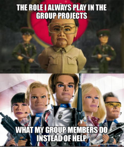 Group Projects Be like