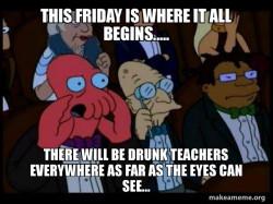 Happy Hour- Teachers