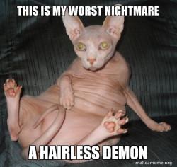 Hairless Demon