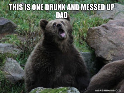 Sarcastic Bear