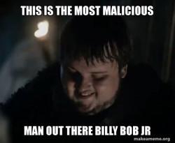 Samwell Tarly Meme