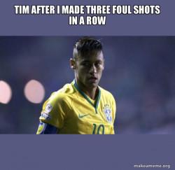 #tim in shock