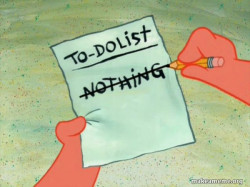 TO-DO List in life