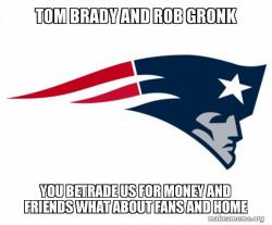 screw tom brady and rob