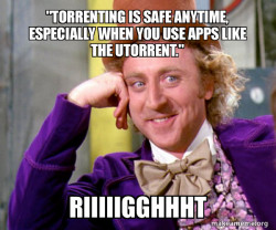 Torrenting Misconception