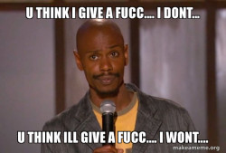 Dave Chapelle (Fucking Up)