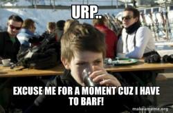 Barfing Boy