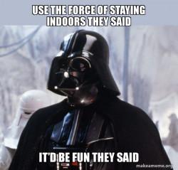 Darth Vader COVID