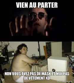 mais ton mask