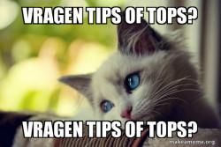 vragen tips of tops?