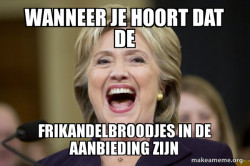Hillary Clinton Laughs
