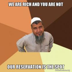 bragging indian
