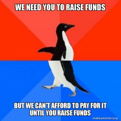 Fundraising Paradox